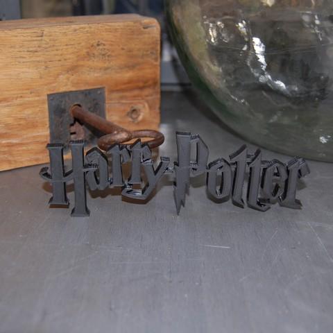 Descargar Modelos 3D para imprimir gratis LOGO DE HARRY POTTER, 3DNaow