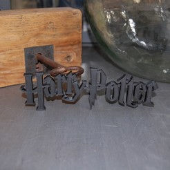 Free STL file HARRY POTTER LOGO, 3DNaow