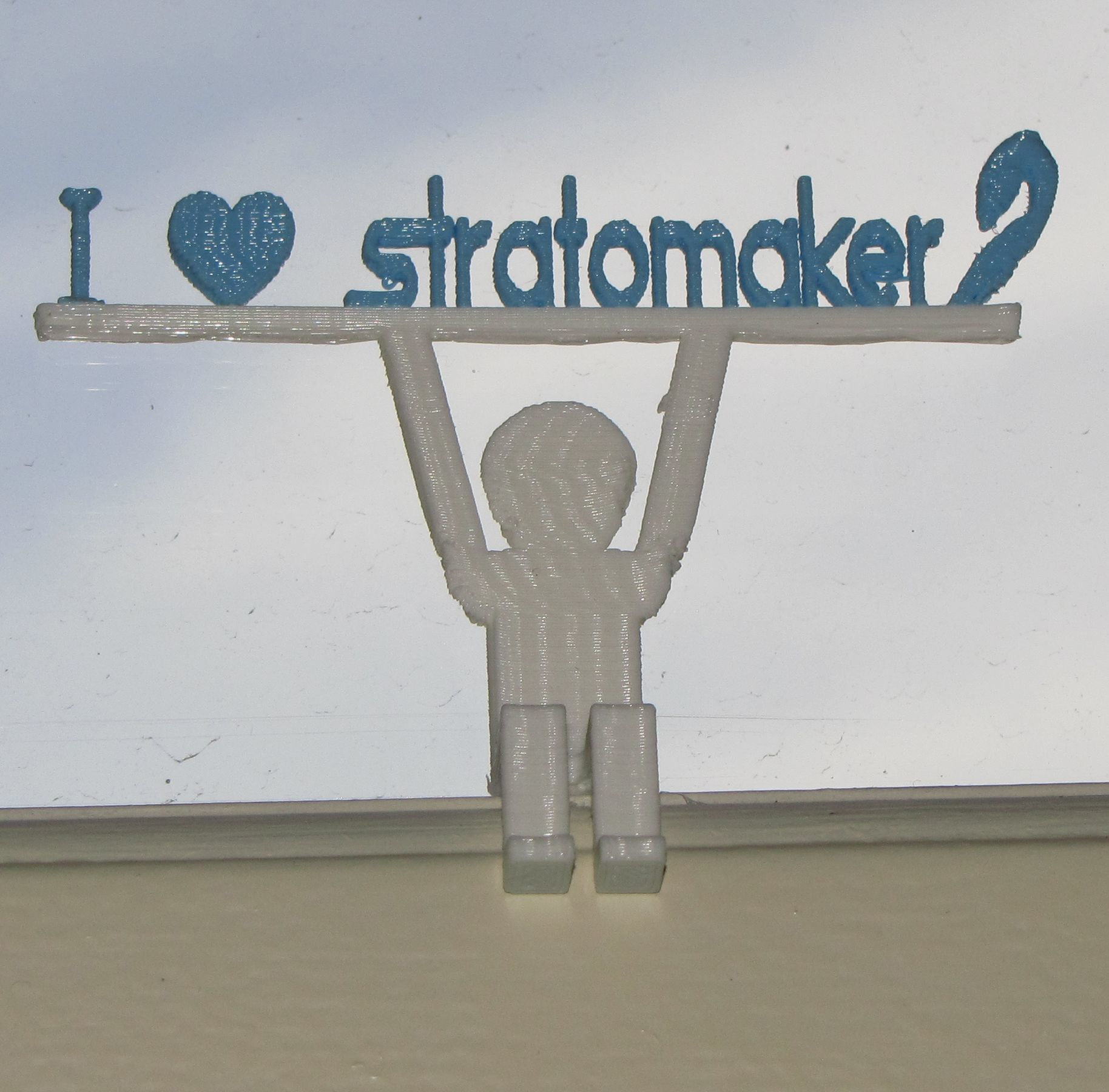 Stratomaker Bonhomme 3.jpg Download free STL file Little man • 3D print template, Jean17