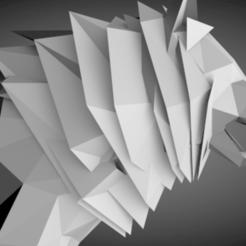 Descargar modelo 3D gratis Poli baja WOLF, Mounah