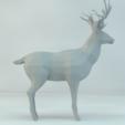 Modelos 3D gratis ciervos bajas poli, yanis-mounnah