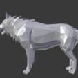 Imprimir en 3D gratis Poli baja WOLF, yanis-mounnah