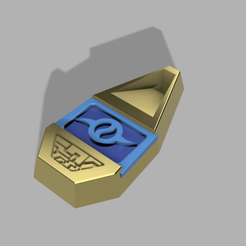 emblema1.png Download STL file Digimon emblem (emblem necklace) • 3D printing model, CamilaVivanco