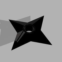 shuriken v1.png Download STL file Shuriken Naruto • 3D printer design, CamilaVivanco
