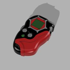 digivice frontier 1.png Télécharger fichier STL Digivice Digimon Frontier D-Scan • Plan imprimable en 3D, CamilaVivanco