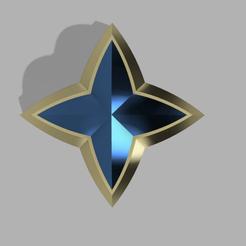 estrella ezreal 2.png Télécharger fichier STL Ezreal Star Guardian (Ligue des légendes) • Plan pour imprimante 3D, CamilaVivanco