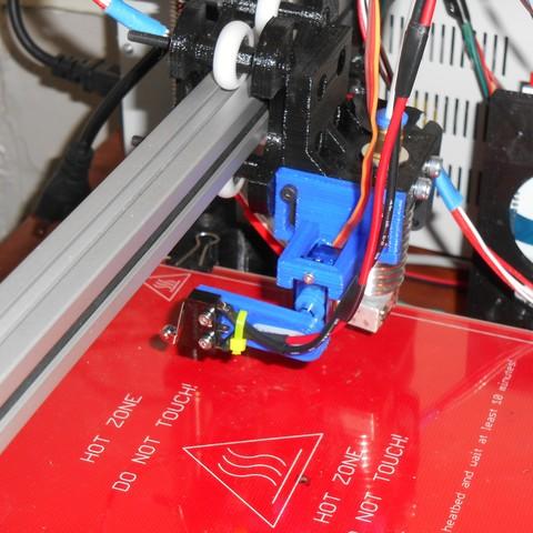Download free STL file Z axis Servo Endstop • 3D printable model, EdBraiman