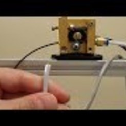 Download free 3D printer model Extruder bracket and calibration tutorial, EdBraiman