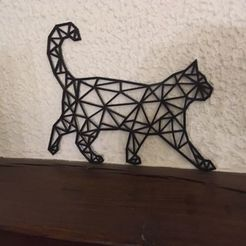 Download free 3D printing files WALL CAT DECORATION, Luci