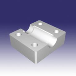 Modèle 3D socle axe, hugo18b