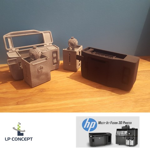 Free STL files MODEL HP MULTIJET FUSION 3D PRINTER # 3DSPIRIT, lp-concept