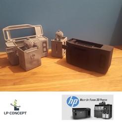 Imprimir en 3D gratis MODELO HP MULTIJET FUSION 3D IMPRESORA # 3DSPIRIT, lp-concept