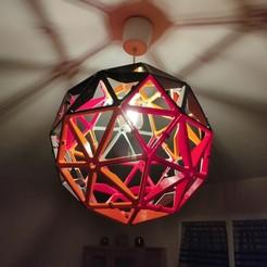 Télécharger fichier STL Abat-jour de la sphère géodésique • Modèle pour imprimante 3D, Jean-LucMerelli