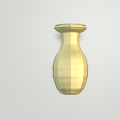 Free 3d model Beautiful  Vase, Camiii