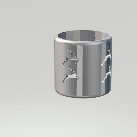 3.png Download STL file Lovely Candleholder • 3D printable design, CamiSantoro