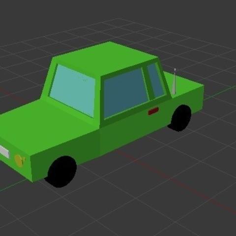 Immagine 1.jpg Download free STL file Car • 3D printable object, CamiSantoro