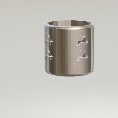 11.png Download STL file Lovely Candleholder • 3D printable design, CamiSantoro