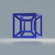 5.png Download free STL file Hypercube • 3D print object, CamiSantoro