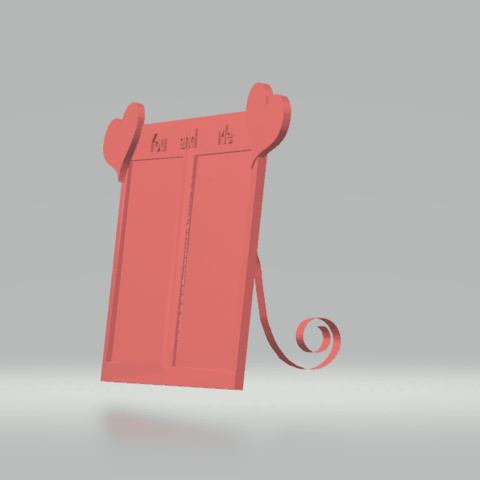 screenshot 3.png Download free STL file Lovely Frame • 3D printable object, CamiSantoro