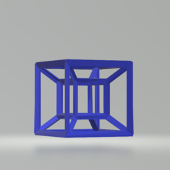Free 3D printer designs Hypercube, CamiSantoro