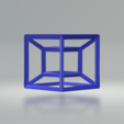 3.png Download free STL file Hypercube • 3D print object, CamiSantoro
