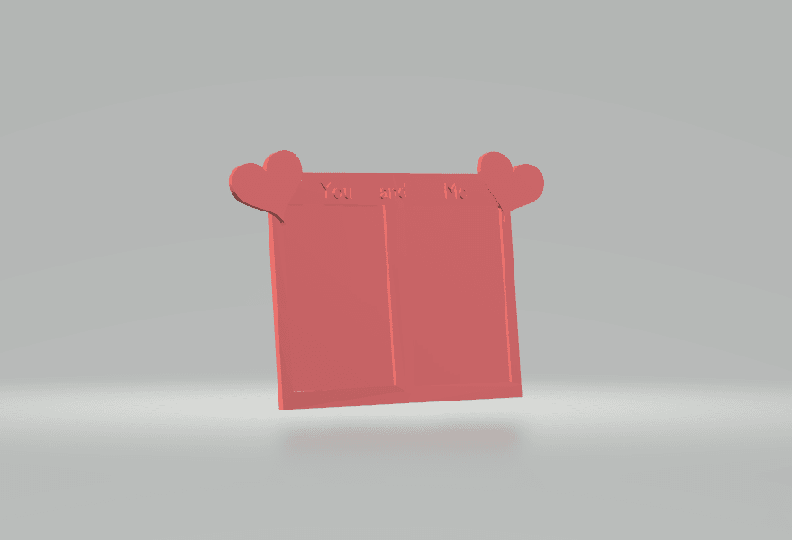 screenshot 1.png Download free STL file Lovely Frame • 3D printable object, CamiSantoro