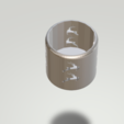 2.png Download STL file Lovely Candleholder • 3D printable design, CamiSantoro