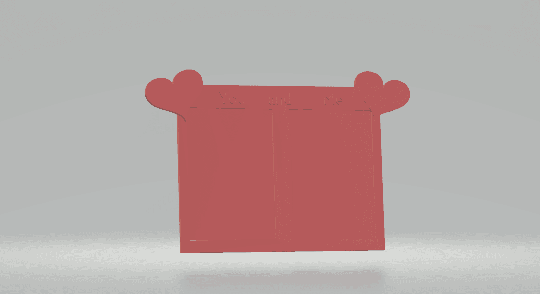 screenshot 4.png Download free STL file Lovely Frame • 3D printable object, CamiSantoro