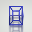 4.png Download free STL file Hypercube • 3D print object, CamiSantoro