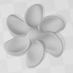 Descargar archivos STL gratis Pétalos esculpidos de flores de champa curvadas, VarunBansal