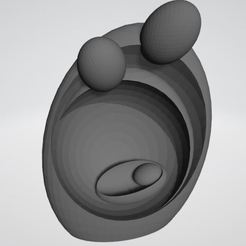 Descargar archivos 3D gratis Santa n Feliz Familia escultura de arte moderno ovalada, VarunBansal