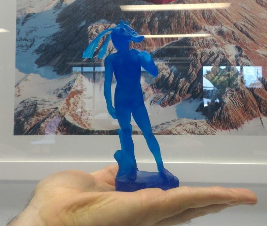 "DavidBinks5.jpg Download free STL file David ""Jar Jar"" Binks • 3D print design, lurgee"