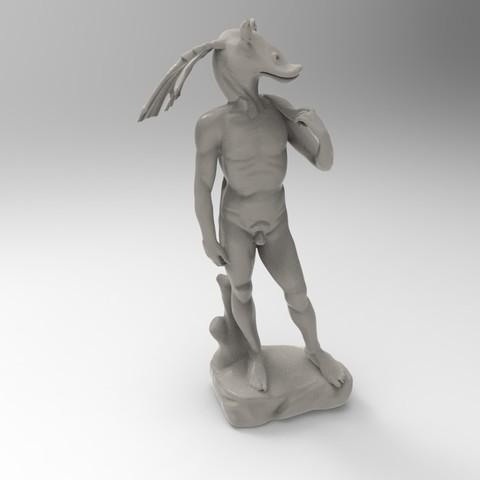 "binkus.31.jpg Download free STL file David ""Jar Jar"" Binks • 3D print design, lurgee"