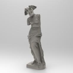 Free Binkus de Milo 3D printer file, lurgee