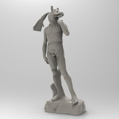 "Download free STL files David ""Jar Jar"" Binks, lurgee"