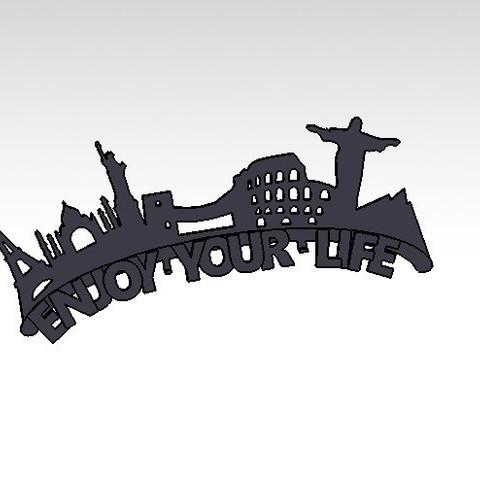 Download free 3D printing models KEY HOLDER #XYZCHALLENGE