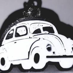 Descargar archivo 3D gratis key chain, llavero, Volkswagen, Vocho, OmarRivera