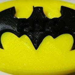 Descargar modelos 3D gratis Llavero BATMAN- keychain Batman, OmarRivera