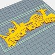 Download free 3D printing models KEY HOLDER #XYZCHALLENGE, OmarRivera
