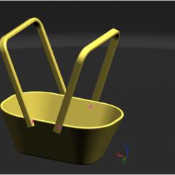 Modelos 3D cesta, lshko0
