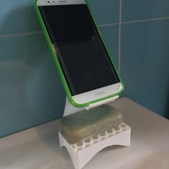Foto 20-11-17, 10 09 26.jpg Download free STL file Soap holder • 3D printable template, 3DCriCos