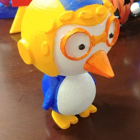 3D printing model pororo-animation character, parksm