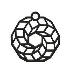 Descargar archivos STL Pendiente, smartdesign