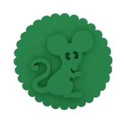 Download STL file Stamp / Cookie stamp, smartdesign