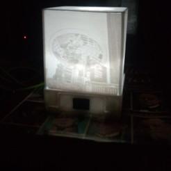 LamparaLitofanía.jpg Download STL file Lithophane lamp • Template to 3D print, IsraelSantanderMendoza