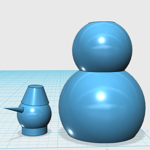 snowman.png Download free STL file Snowman for money • 3D printing model, Constantin9999