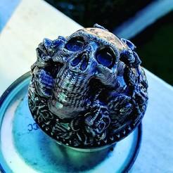objet 3d Boite Halloween baroque, MarcelHasan