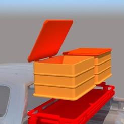 Descargar modelo 3D gratis Caja para Toyota Hilux Arctic Truck, ildarius2017