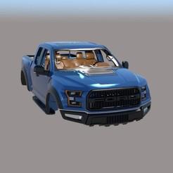 001.jpg Download STL file Ford F 150 Raptor • 3D printable model, ildarius2017