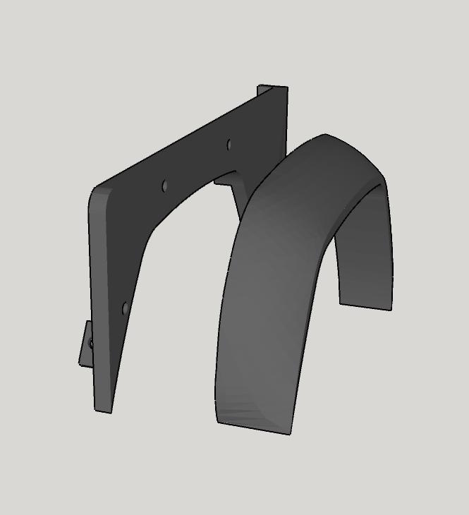 2019-06-12_09-07-28.png Télécharger fichier STL gratuit Aile avant de la Land Rover Defender 110 • Design à imprimer en 3D, ildarius2017